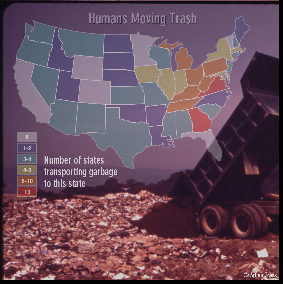 Humans Moving Trash