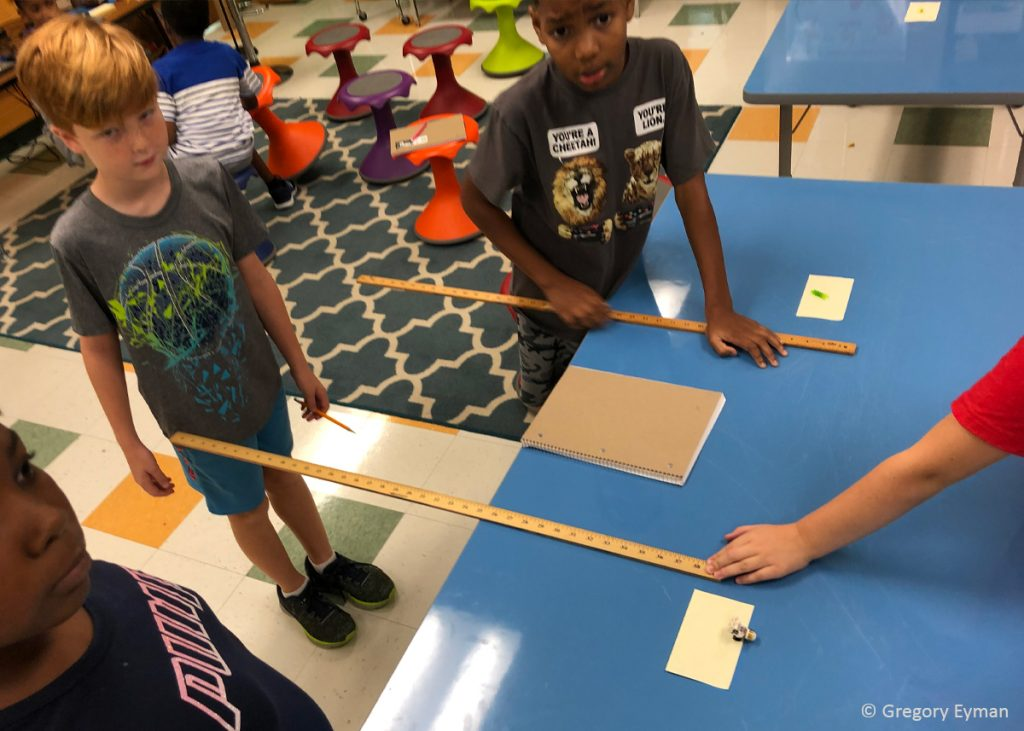 Measuring experiments