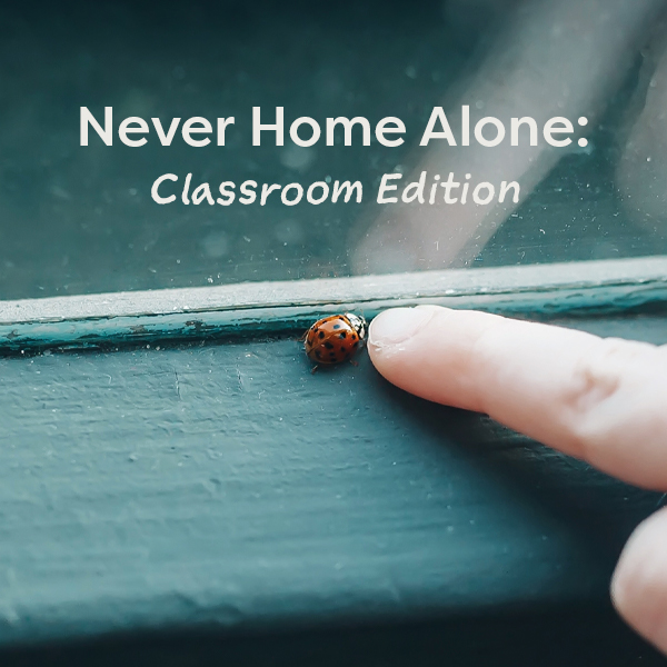 Never Home Alone: Classroom Edition
